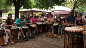 DRUM CIRCLE WITH STEVE BELL