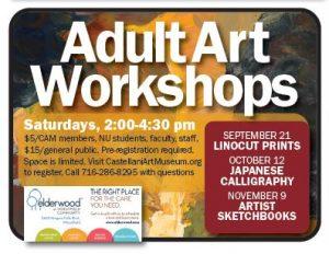 Adult Art Workshops