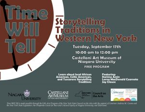 Time Will Tell: Storytelling Traditions in Western New York