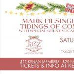 Jazz at the Taylor: Mark Filsinger Quintet's Tidings of Comfort & Jazz