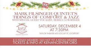 Jazz at the Taylor: Mark Filsinger Quintet's Tid...