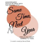 CARRIAGE HOUSE PLAYERS PRESENTS: SAME TIME, NEXT YEAR